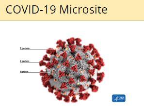 COVID-19 Microsite
